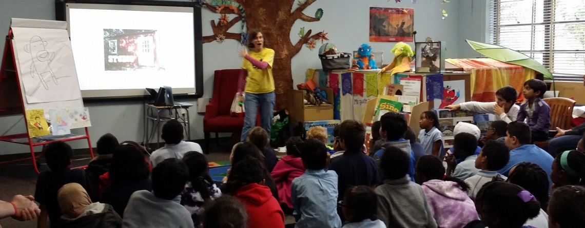 Author Cece Bell visits ICS