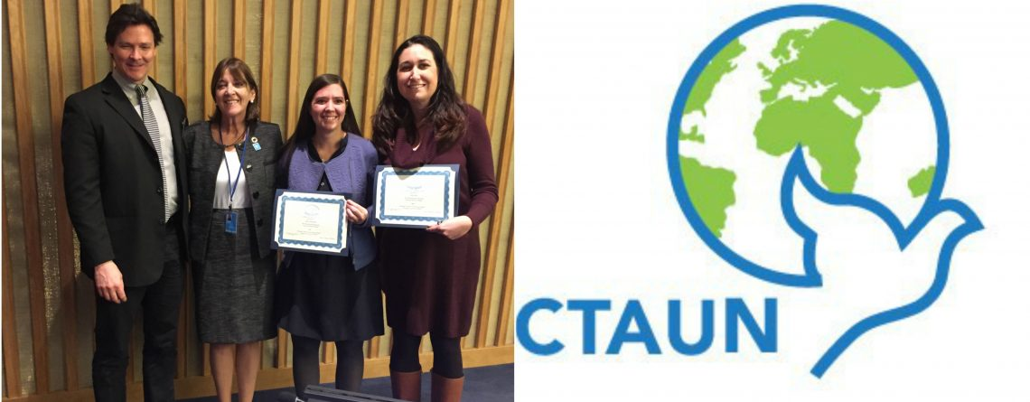 ICS Awarded By The United Nations