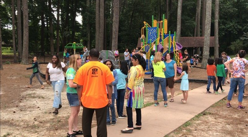 ICS on the AJC: One DeKalb school puts an outdoor spin on teacher planning