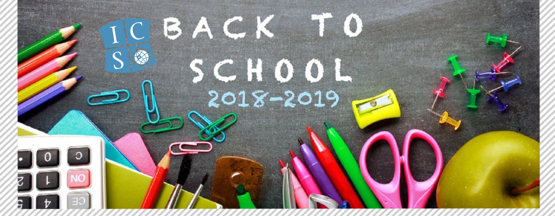 Back to School 2018-2019