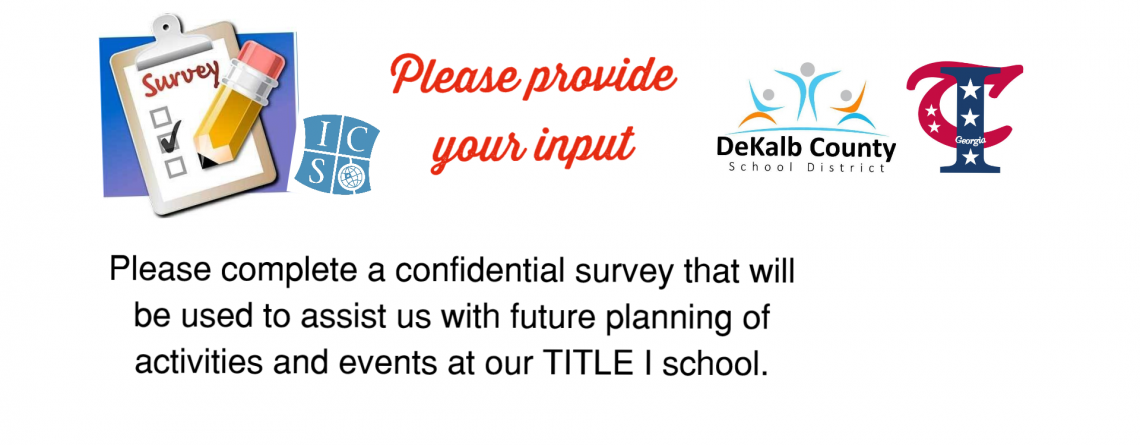 2018-2019 Title I Survey for ICS