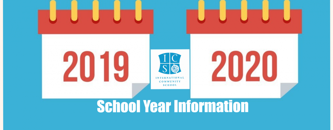 Applications for the 2019-2020 School Year