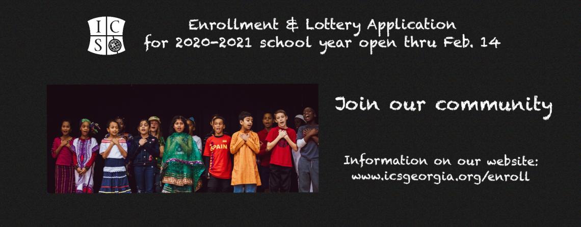 Enrollment & Application for 2020-2021